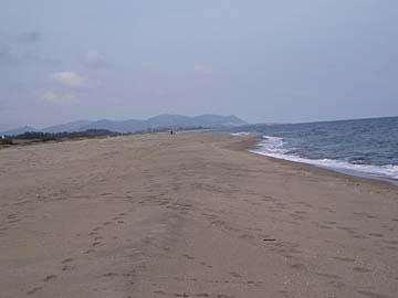 der Strand bei Torre Salinas im Südosten von Sardinien