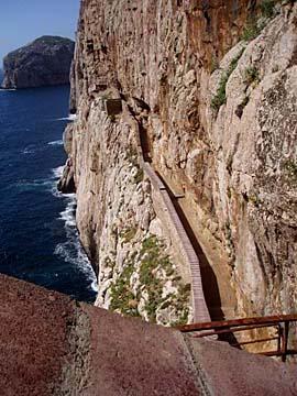 Grotta di Nettuno bei Alghero, Sardinien