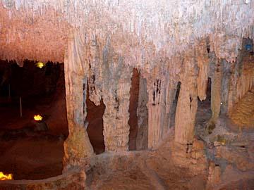 in der Tropfsteinhöhle Neptun Grotte auf Sardinien