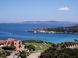 An der Küste bei Palau auf Sardinien in Italien