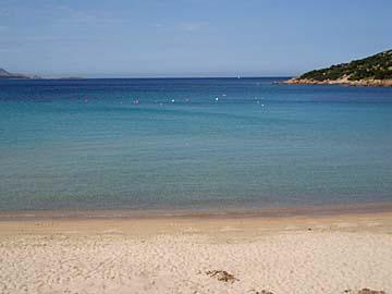 an der Costa Rei im Südosten von Sardinien