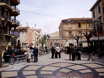 Olbia beim Piazza Matteotti auf Sardinien, Italien