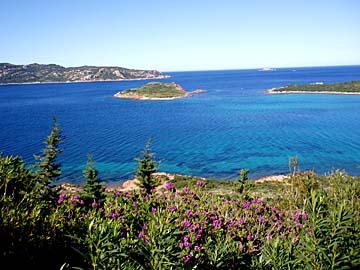 Landschaft am Capo Coda Cavallo auf Sardinien, Italien
