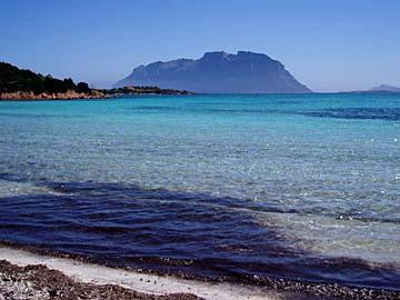 die Küste bei Porto Istana, Sardinien