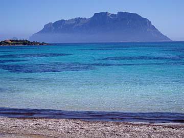 Strände auf der Insel Sardinien, Italien