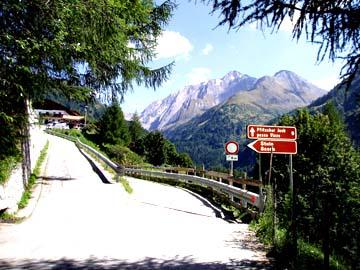 am Ende des Pfitscher Tales, Südtirol