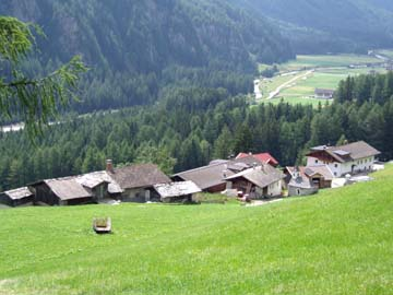 Blick ins Pfitscher Tal, Südtirol