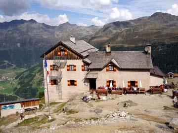 die Hochgallhütte (früher Kassler Hütte), Südtirol