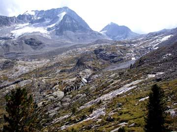 im Hochgall Gletschergebiet, Südtirol