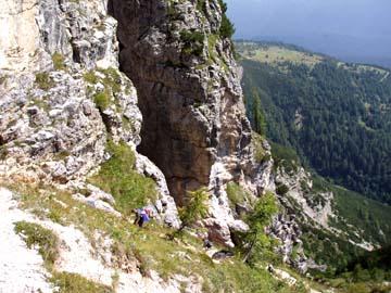 beim Aufstieg zur Berti-Hütte, Südtirol