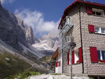 an der Berti Hütte, Südtirol