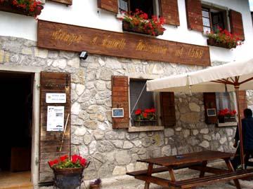an der Lunelli-Hütte, Südtirol