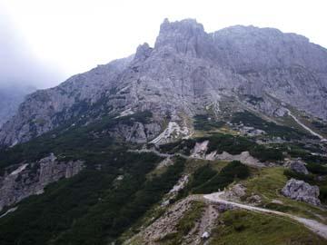 am Cima dei Colesi ni den Sextner Dolomiten, Südtirol