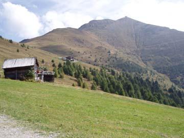 auf der Wanderung zur Silianerhütte, Südtirol