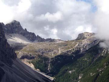 Blick ins Attensteintal, Südtirol