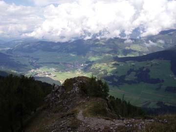 beim Aufstieg zur Gautraste, Südtirol