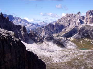 beim Aufstieg zur Büttelejochhütte, Südtirol