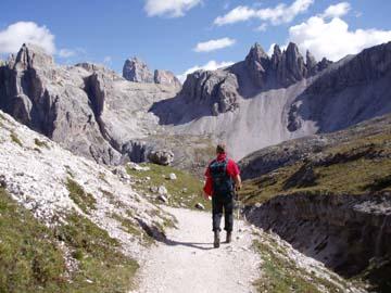 unser Abstieg durch das Attensteiner Tal, Südtirol