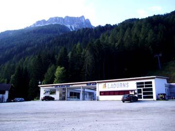 beim Sessellift Ladurns, Südtirol