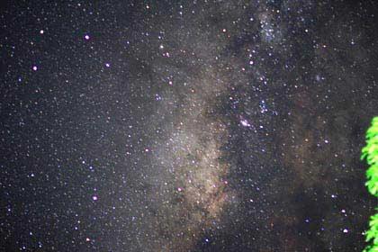 Der phantastische Südsternenhimmel auf den Seychellen