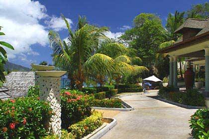 Ein Teil der Anlage des Hilton Northolme Resorts auf Mahé