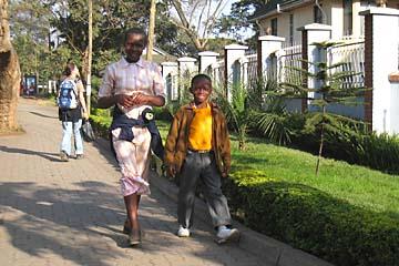 Auf den Straßen von Arusha