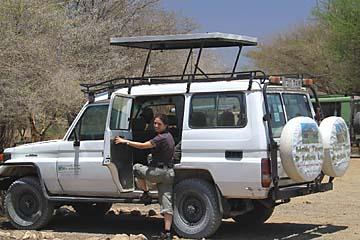 Unser Defender Jeep für die nächsten Tage