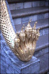 der Königspalast (Wat Phraa Kaeo) in Bangkok, Thailand