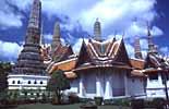 Der Königspalast in Bangkok in Südostasien