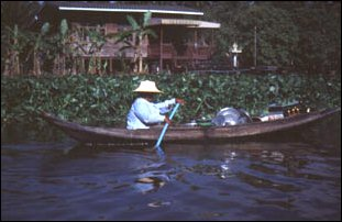 auf den Klongs in Bangkok