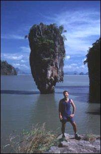 der James Bond Felsen von Phang Na, Thailand