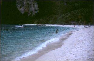 ein Strand auf Ko Phi Phi