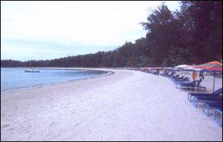 ein Strand auf Phucket, Thailand