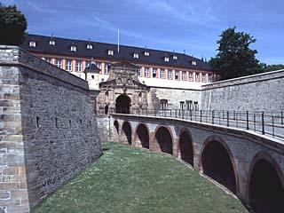 die Zitadelle zu Erfurt, Thüringen