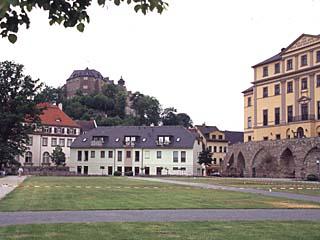 das untere und obere Schloß zu Greiz, Thüringen
