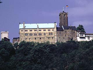 die Wartburg zu Eisenach, Thüringen