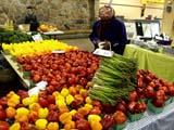 Der Farmer-Markt in Downtown Toronto