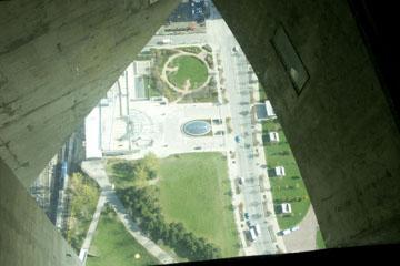 Glasboden im CN Tower, Toronto, Kanada