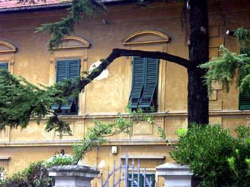 typisches Haus in der Toskana im Herzen von Italien