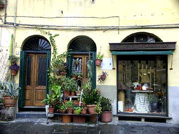 Stilleben in Lucca im Herzen der Toskana, Italien
