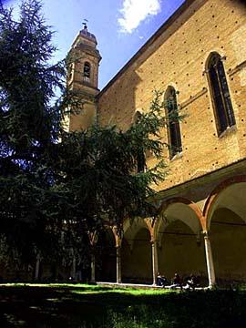 Am Convento di San Francesco in Siena