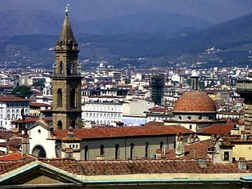 Blick auf Florenz vom Giardino di Boboli