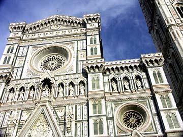 der gotische Dom zu Florenz im Herzen der Toskana
