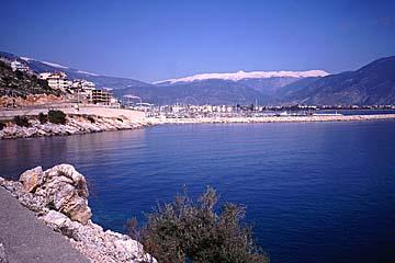 türkische Riviera bei Finike, türkische Riviera