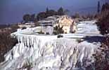Kultur in Hierapolis, ein antikes Grab in der Türkei
