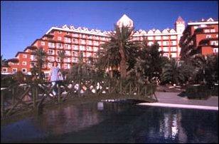 unser Hotel in Belek, türkische Riveria