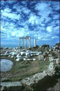der Apollon-Tempel von Side