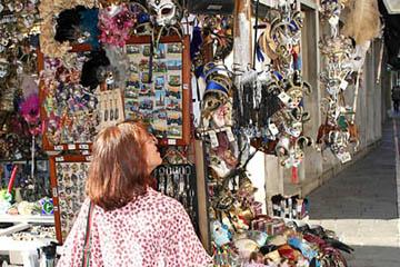 Venedig, Masken und Souveniers