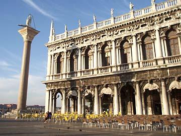 Venedig, Piazzetta, Granitsäule