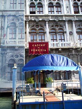 Venedig, Casino vom Canal Grande aus